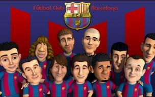 Caricaturas del Barcelona