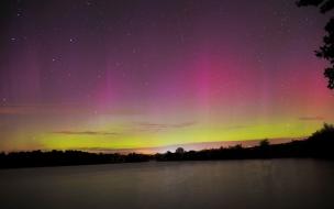 Aurora Boreal de colores