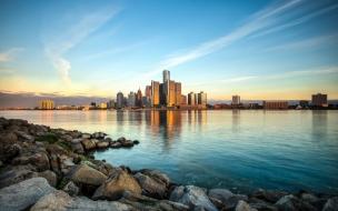 Amanecer en Detroit