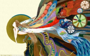 Dibujos coloridos japoneses