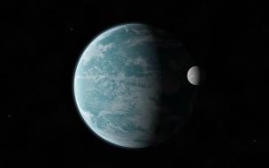 La Tierra y su luna