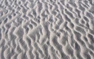 Textura de dunas en arena