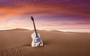 Guitarra Les Paul blanca