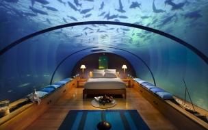 Habitacion con panorama acuatico