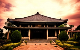 Modelo de casas de japon antiguas