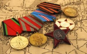 Medallas antiguas de militares