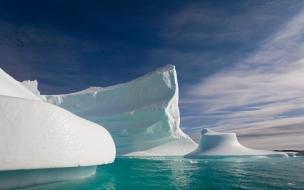 Hielo en la Antartida