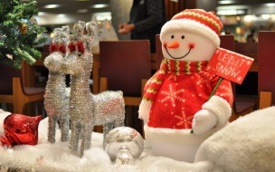 Peluche de muñeco de nieve