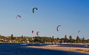 KiteSurf en la playa