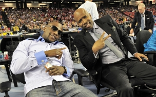 Floyd Mayweather & Kenny Smith