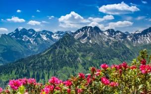 Bellas montañas
