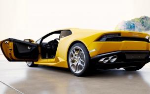 El clásico Lamborghini amarillo