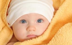 Un hermoso bebe