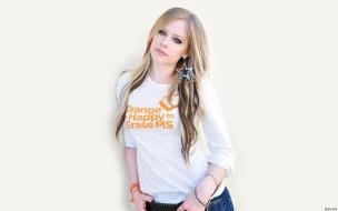 La cantante Avril Lavigne