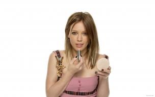 Hilary Duff y su maquillaje