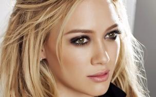 El rostro de Hilary Duff
