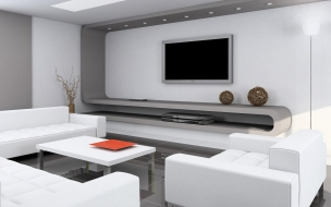 Diseño interior de sala