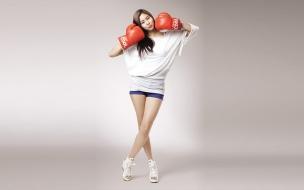 Chicas coreanas bella