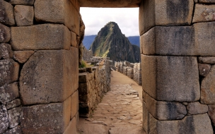Las ruinas de Machu Pichu