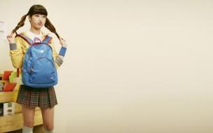 Una colegiada asiática