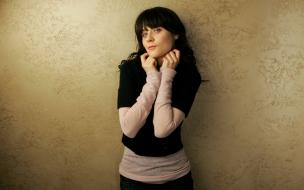 La actriz Zooey Deschanel