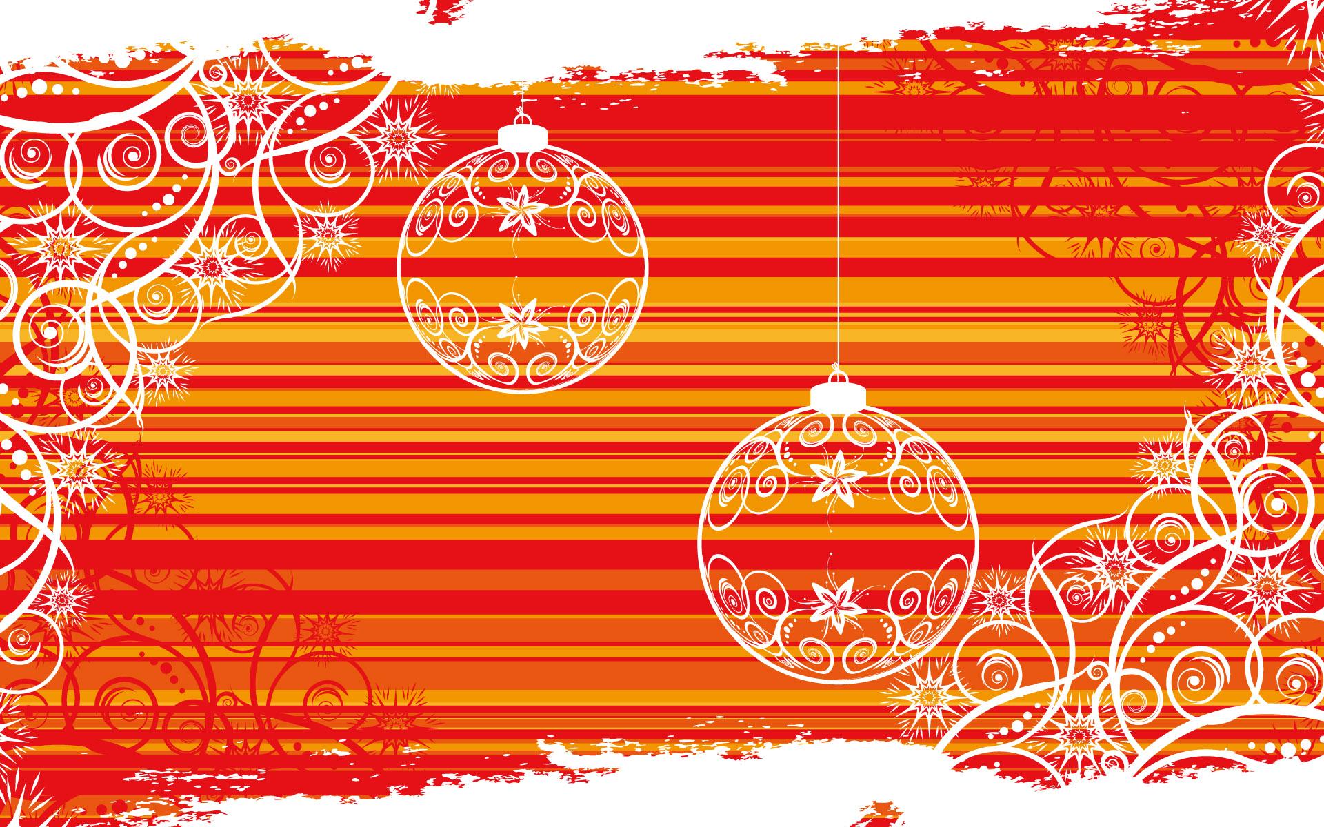 Abstracto por navidad - 1920x1200