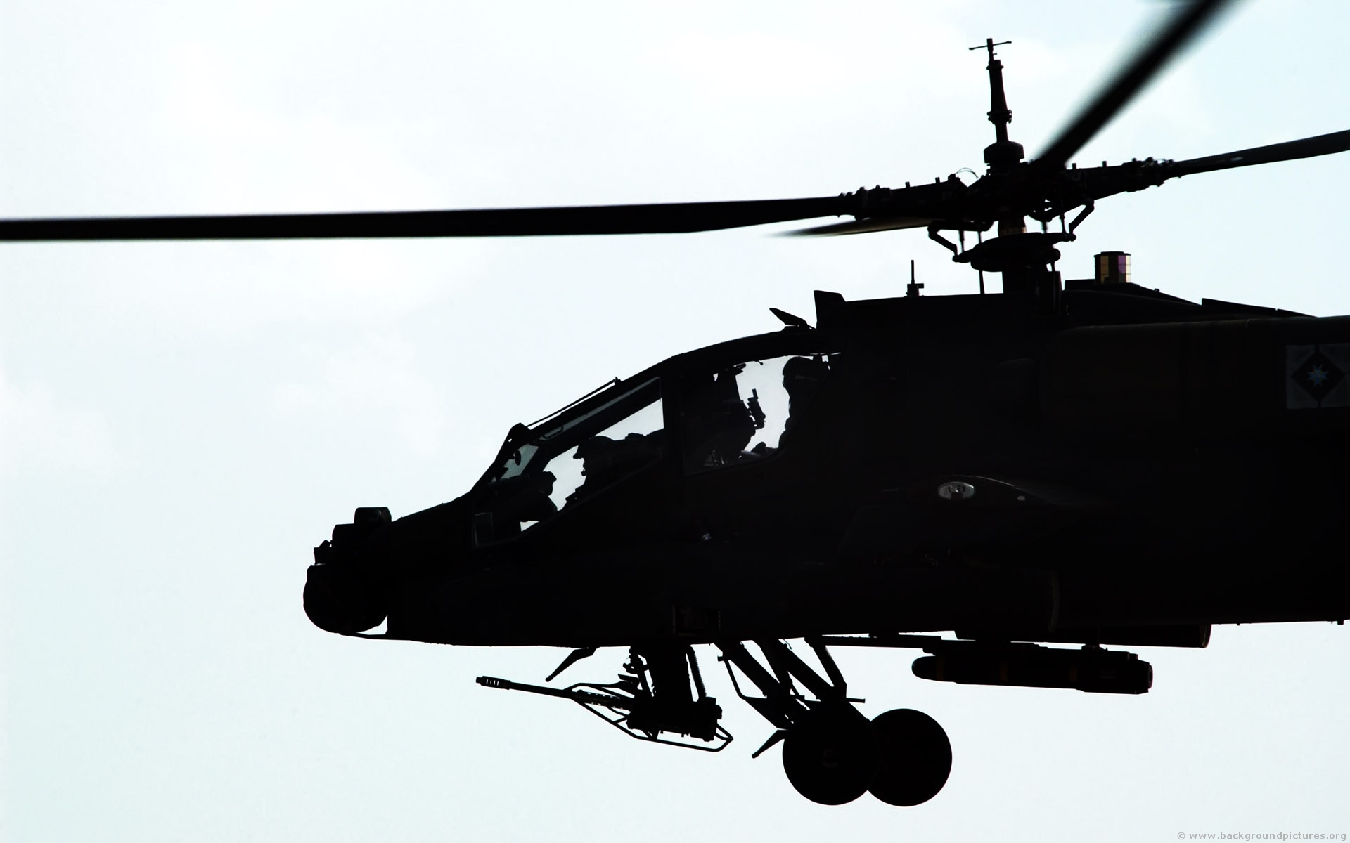 AH 64 Apache - 1920x1200