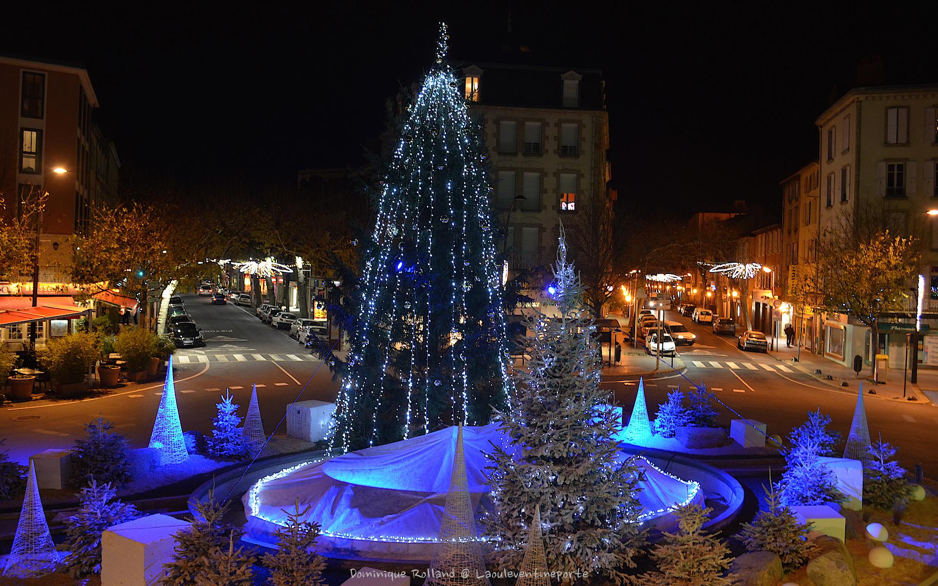 Arboles de Navidad en las ciudades - 1920x1200