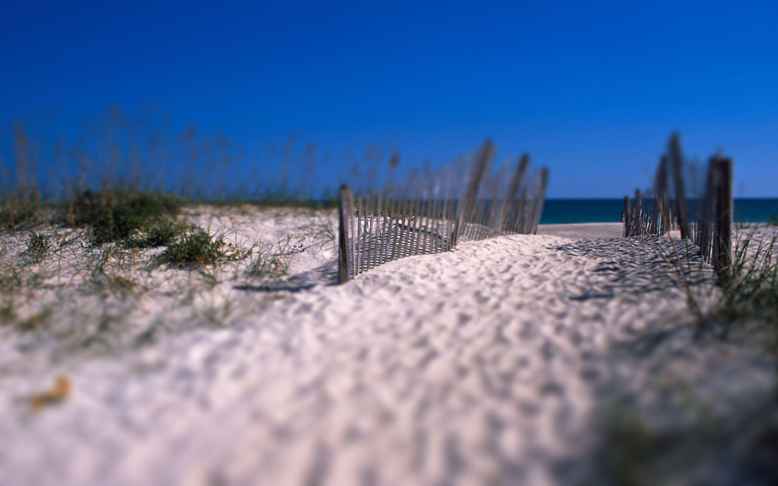 Arena en la playa - 2560x1600
