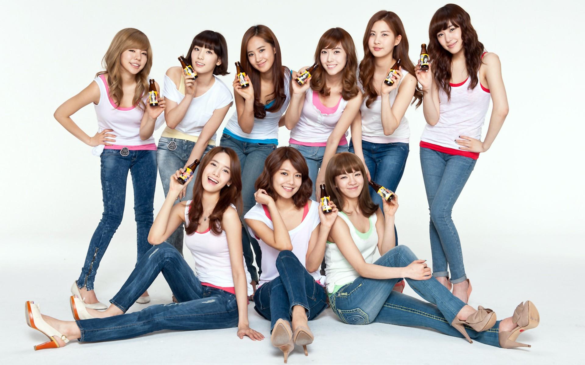 Asiáticas con jeans - 1920x1200