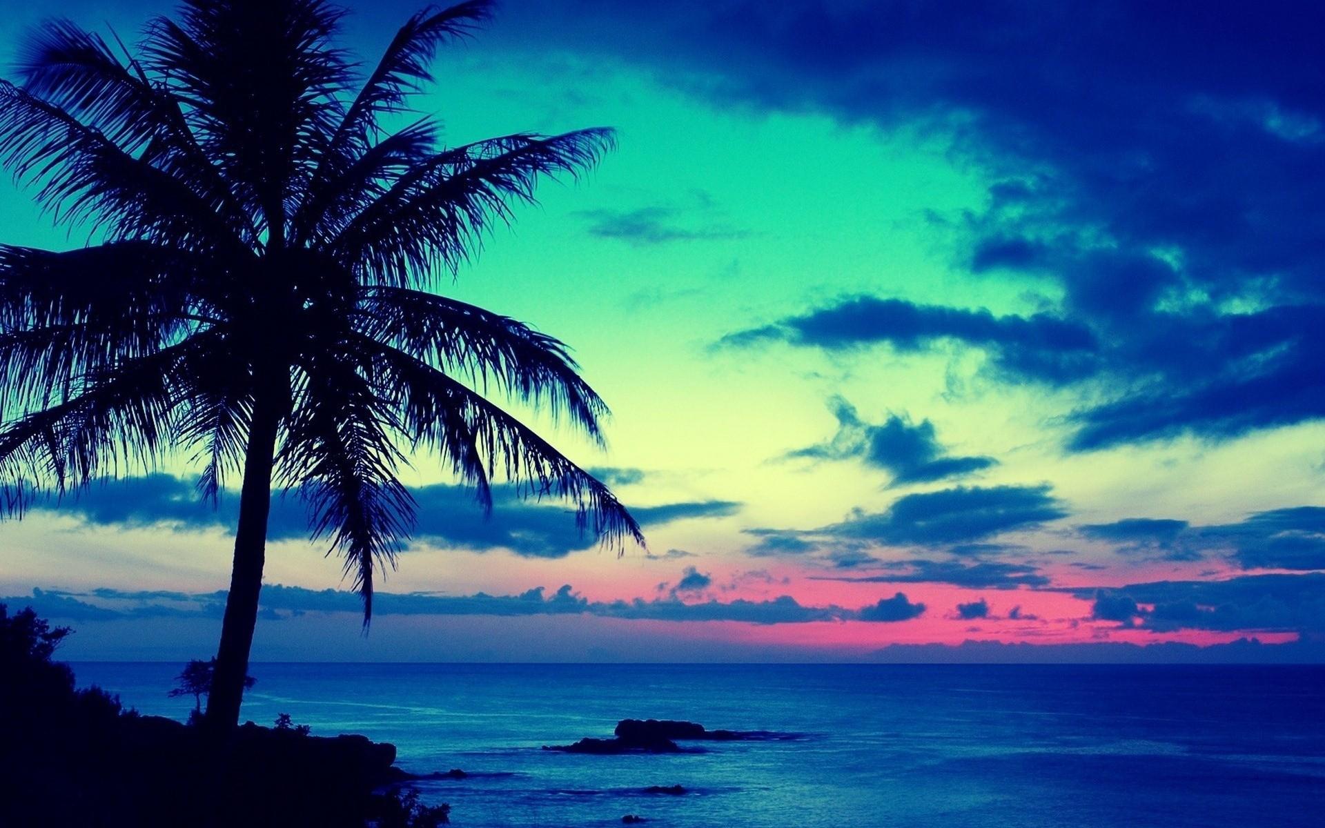 Atardeceres en playas - 1920x1200