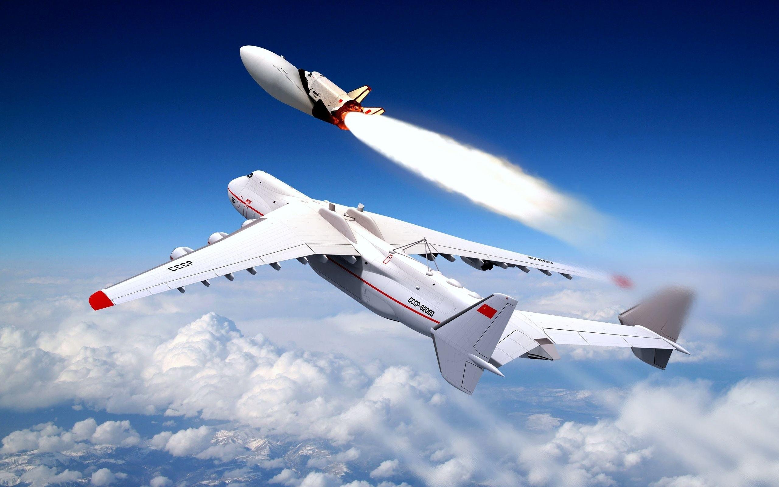 Avión Antonov An-225 - 2560x1600