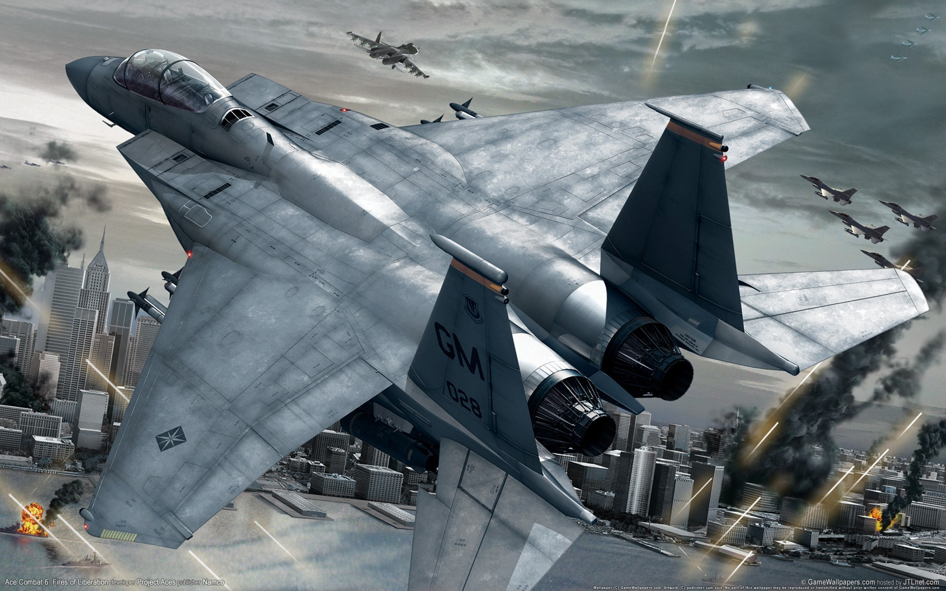 Aviones y videojuegos - 1920x1200