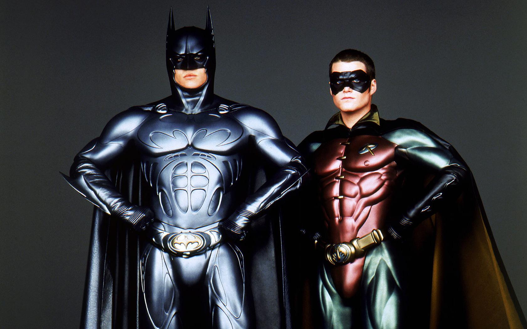 Batman y Robín - 1680x1050