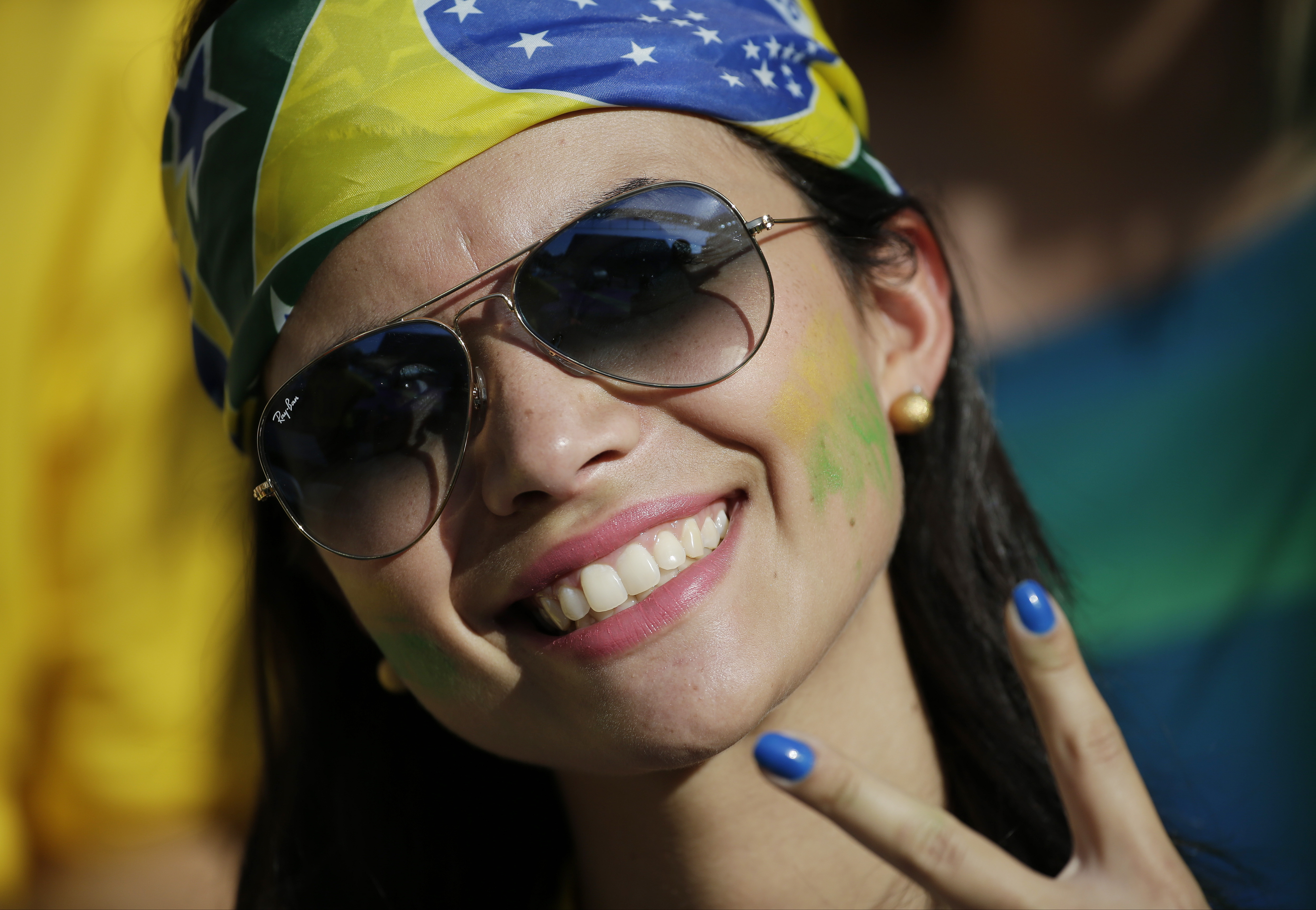 Bellas Brasileñas en el Mundial - 4998x3456