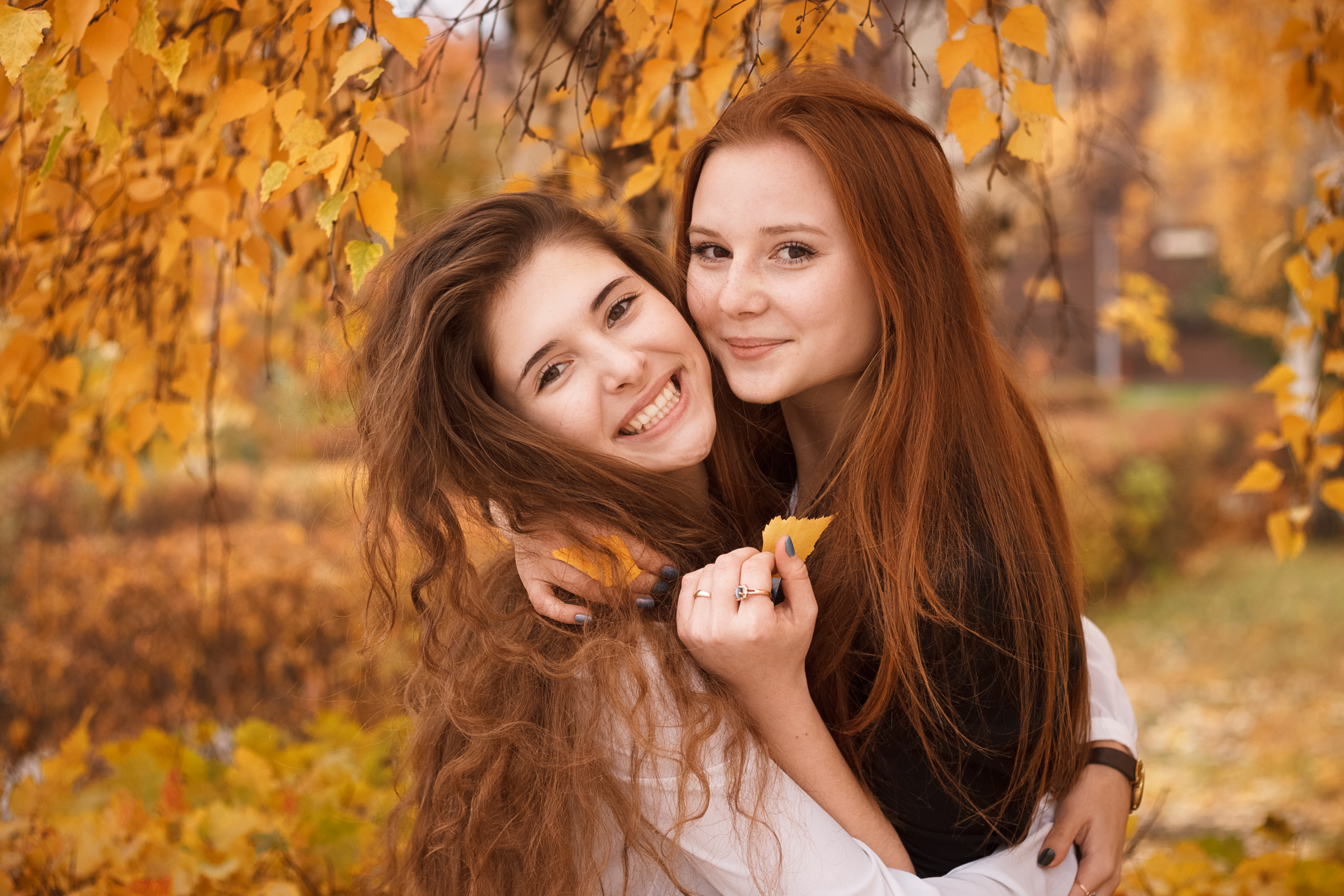 Bellas chicas pelirrojas - 4272x2848