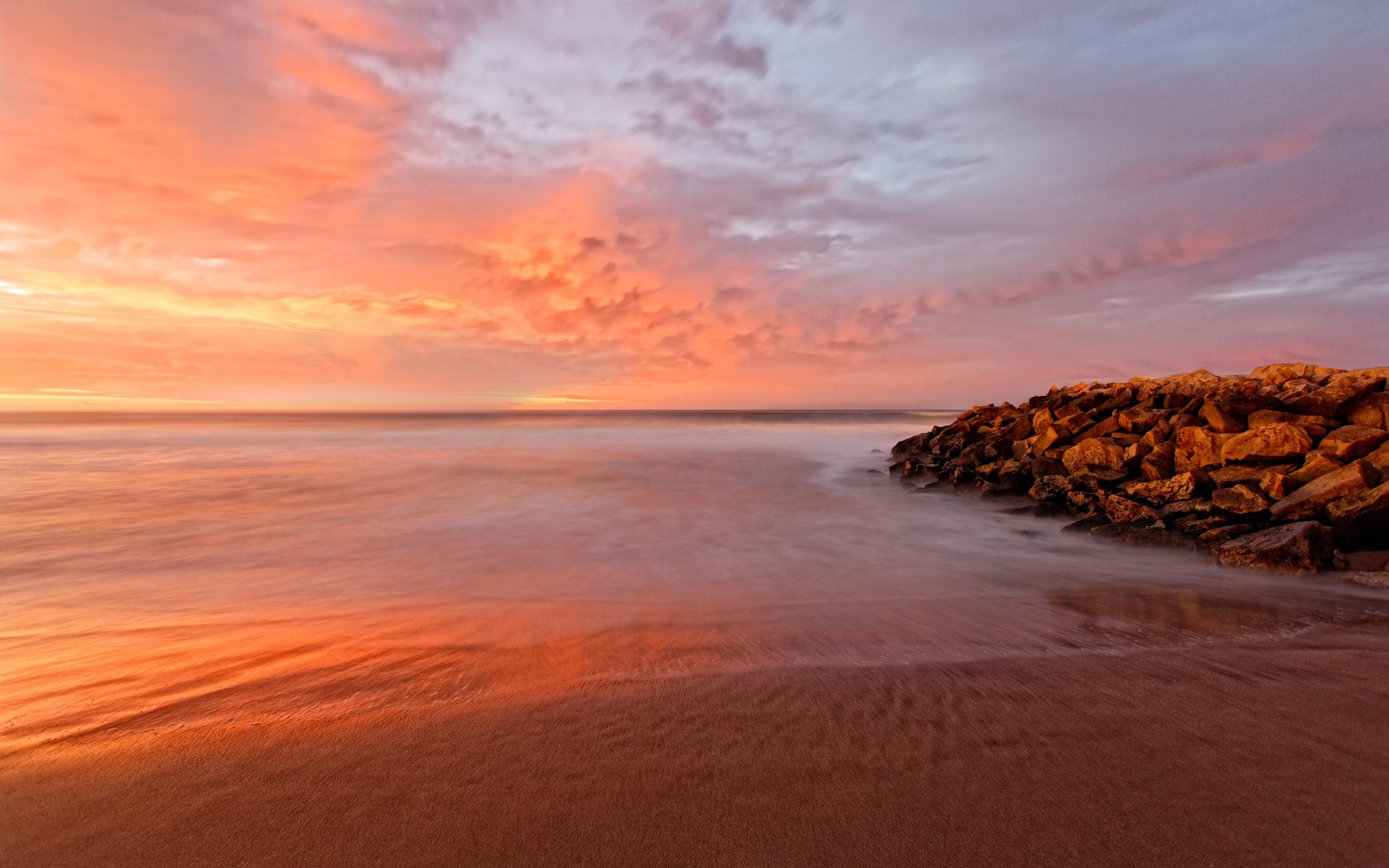 Bellos amaneces en playas - 2560x1600