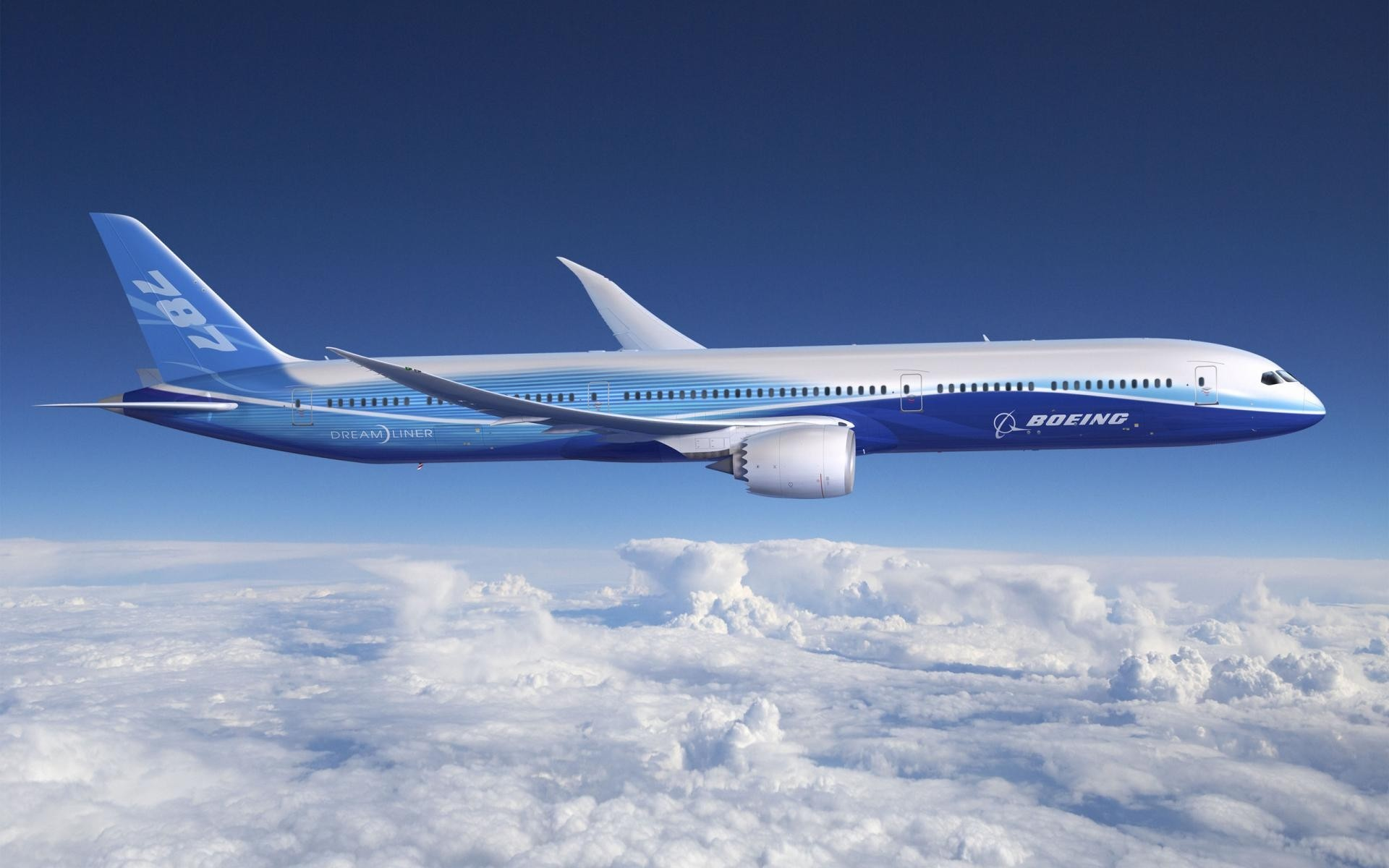 Boeing 787 Dreamliner - 1920x1200
