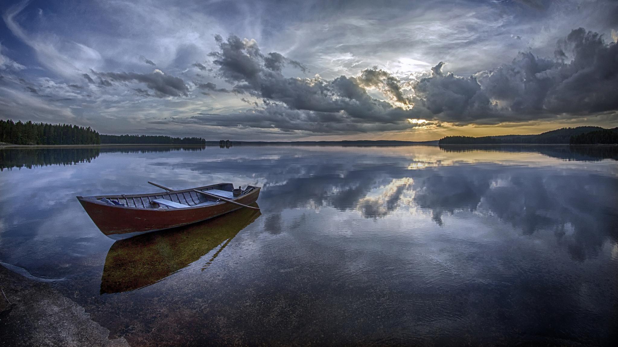 Botes en lagos - 2048x1152