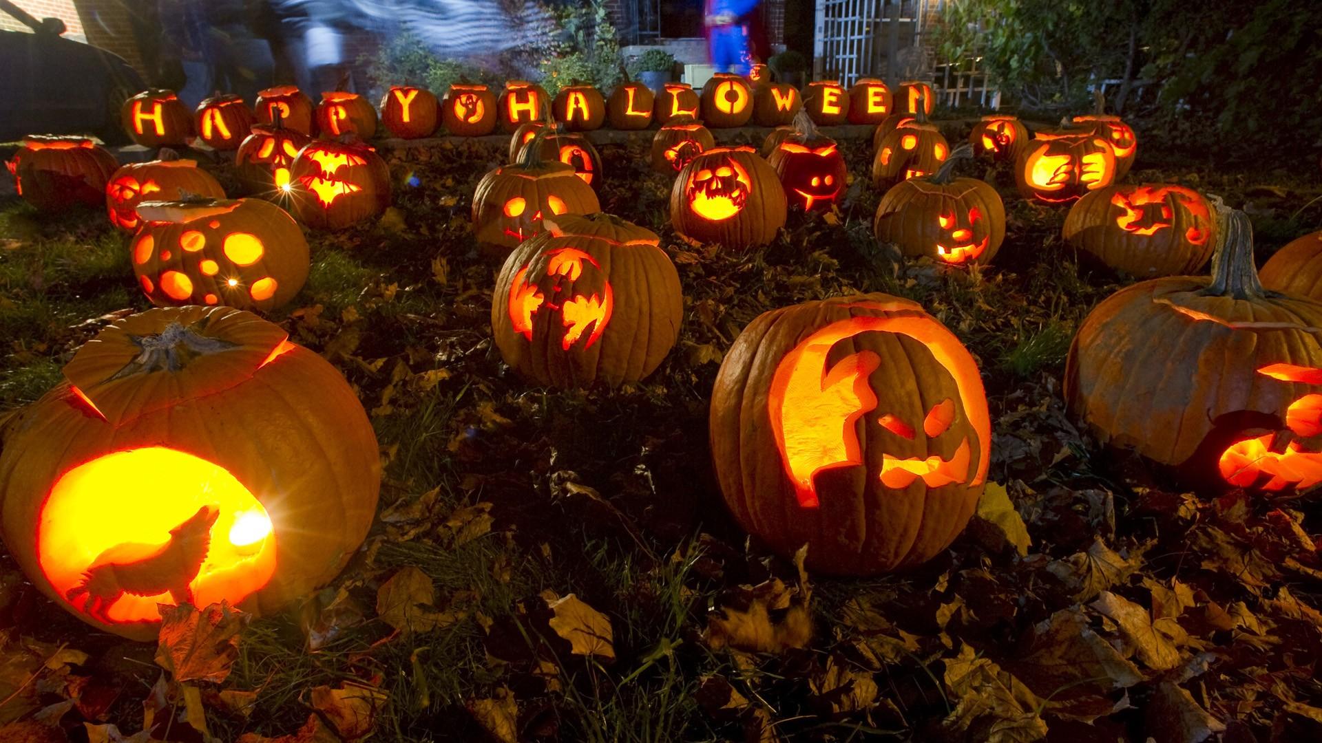 Calabazas para Halloween - 1920x1080