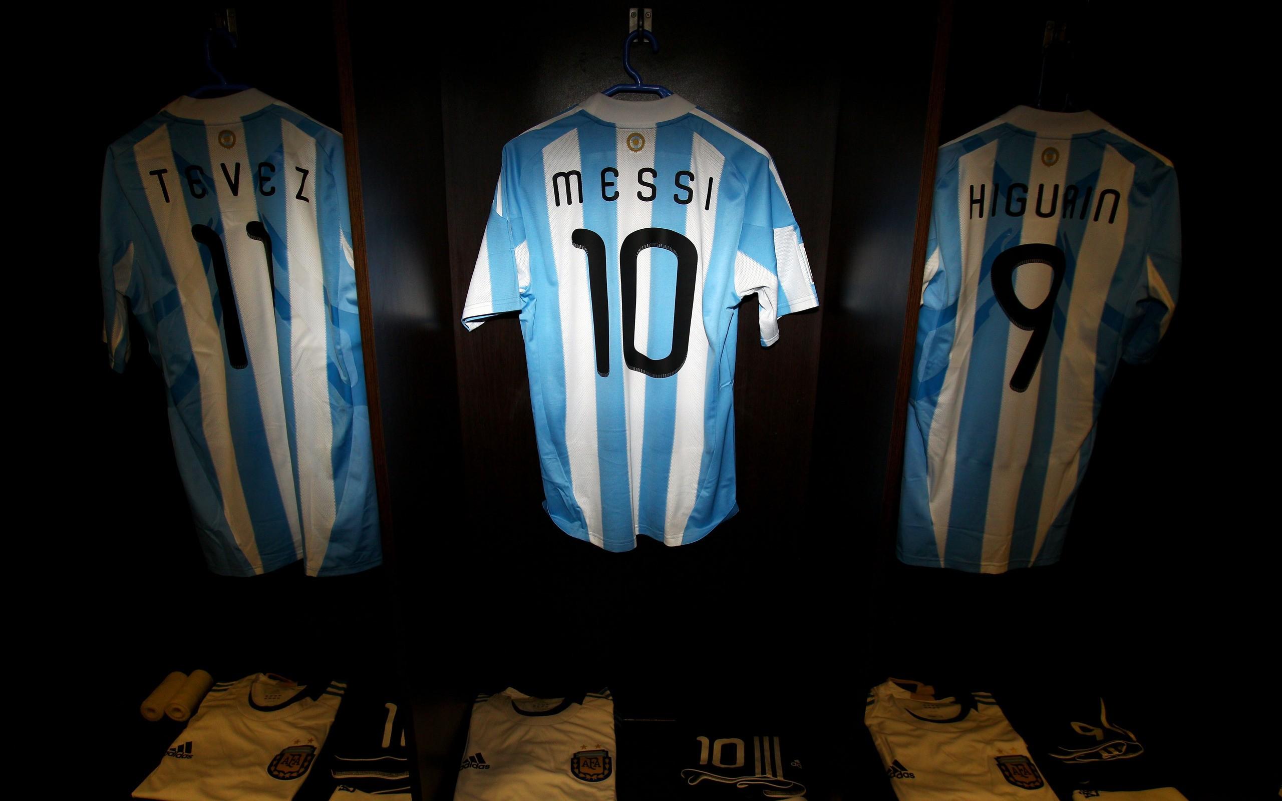 Camisetas de Argentina - 2560x1600