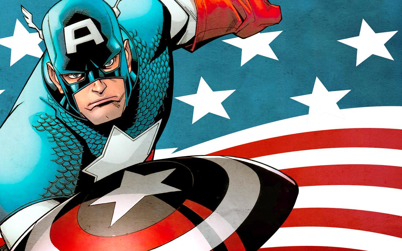 Capitán América Comic - 1440x900