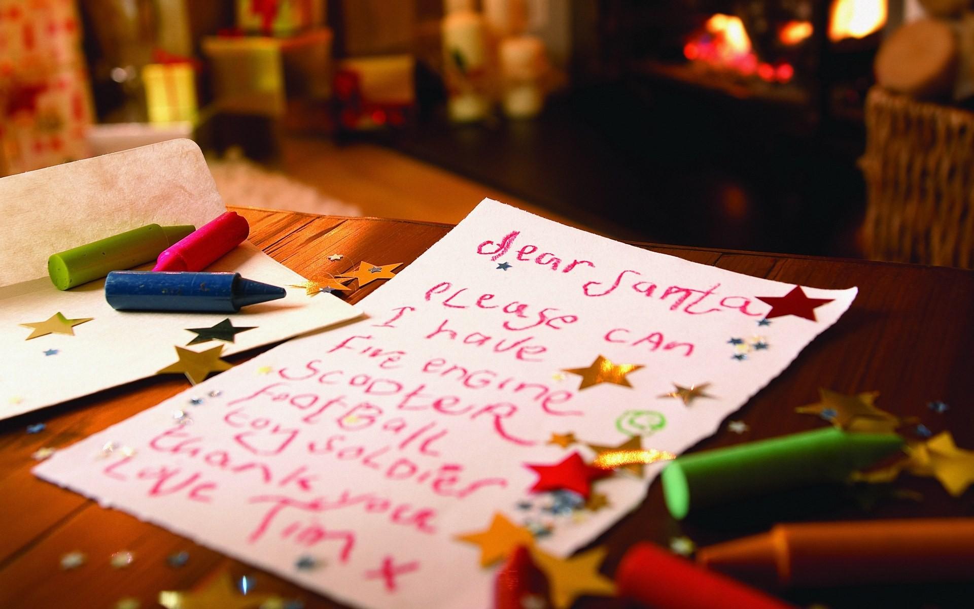 Carta a Santa Claus - 1920x1200