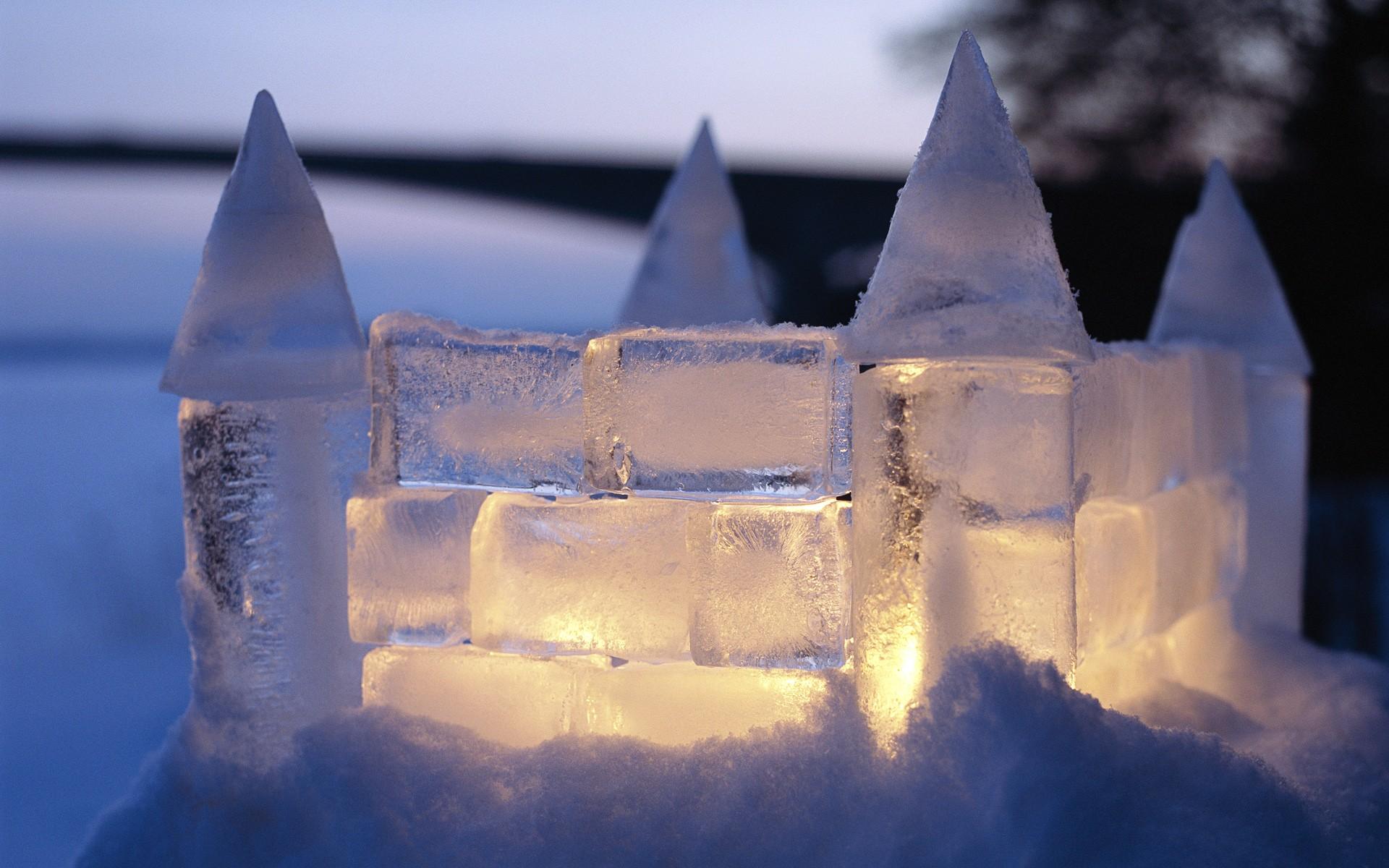 Castillo de hielo - 1920x1200