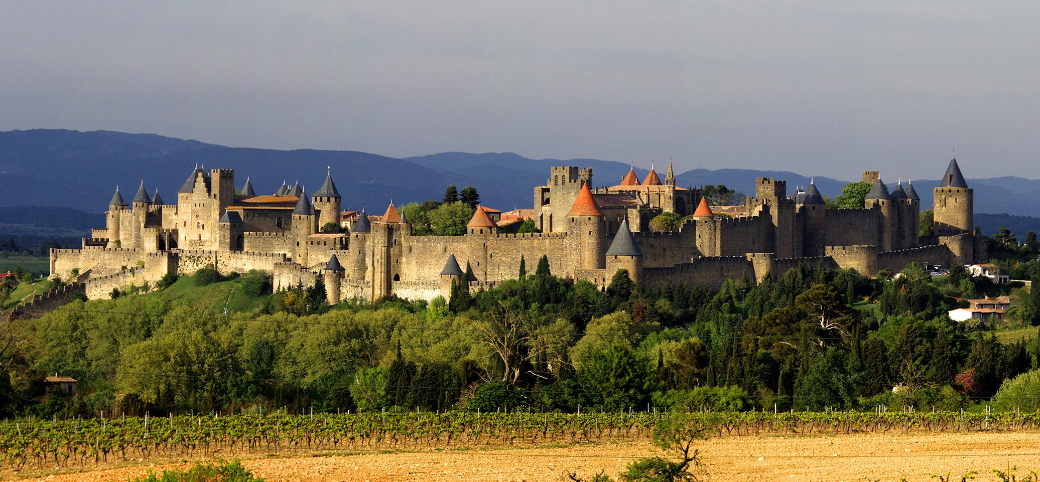 Castillos de Carcassonne - 2072x961