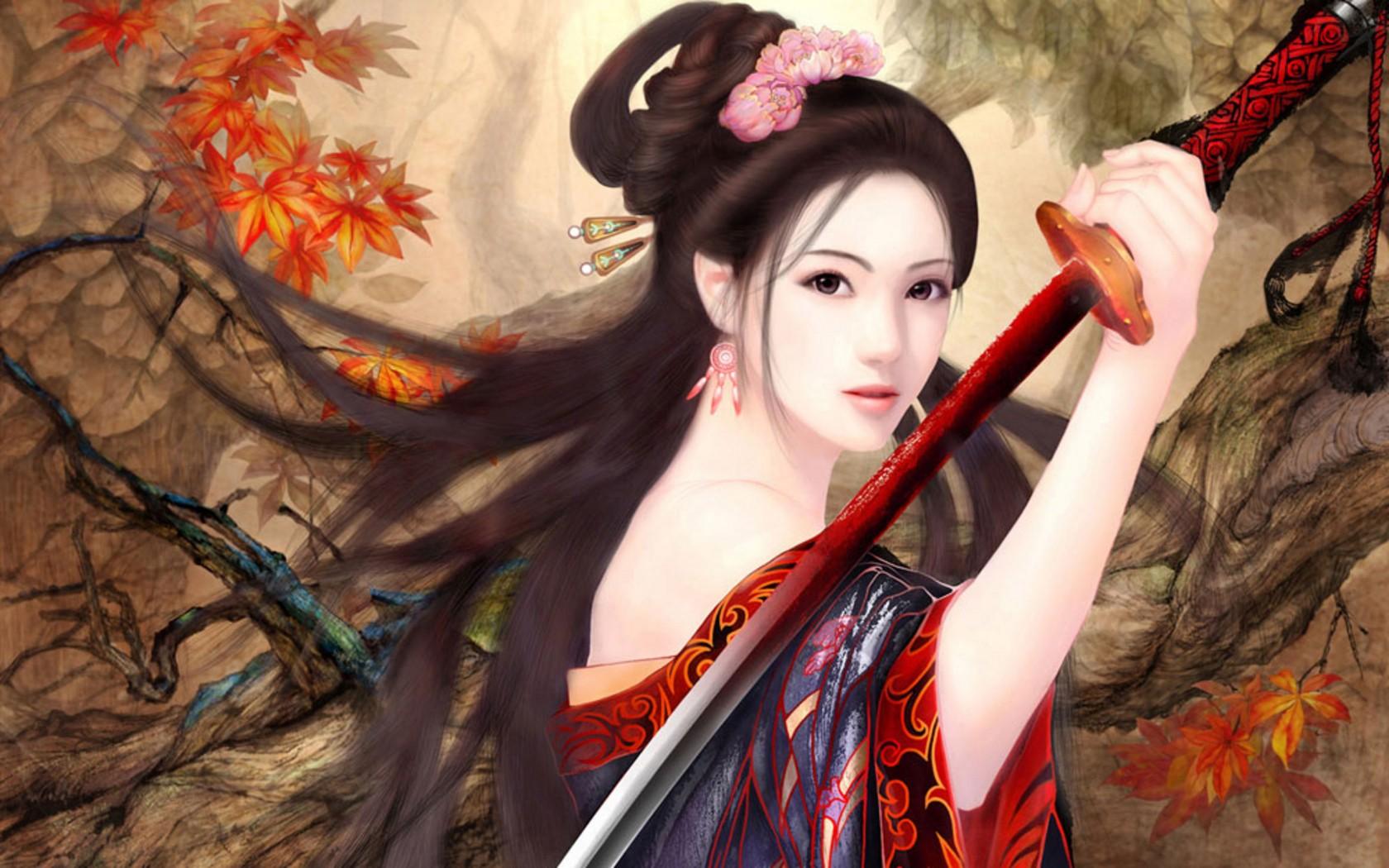 Chica de anime - 1680x1050