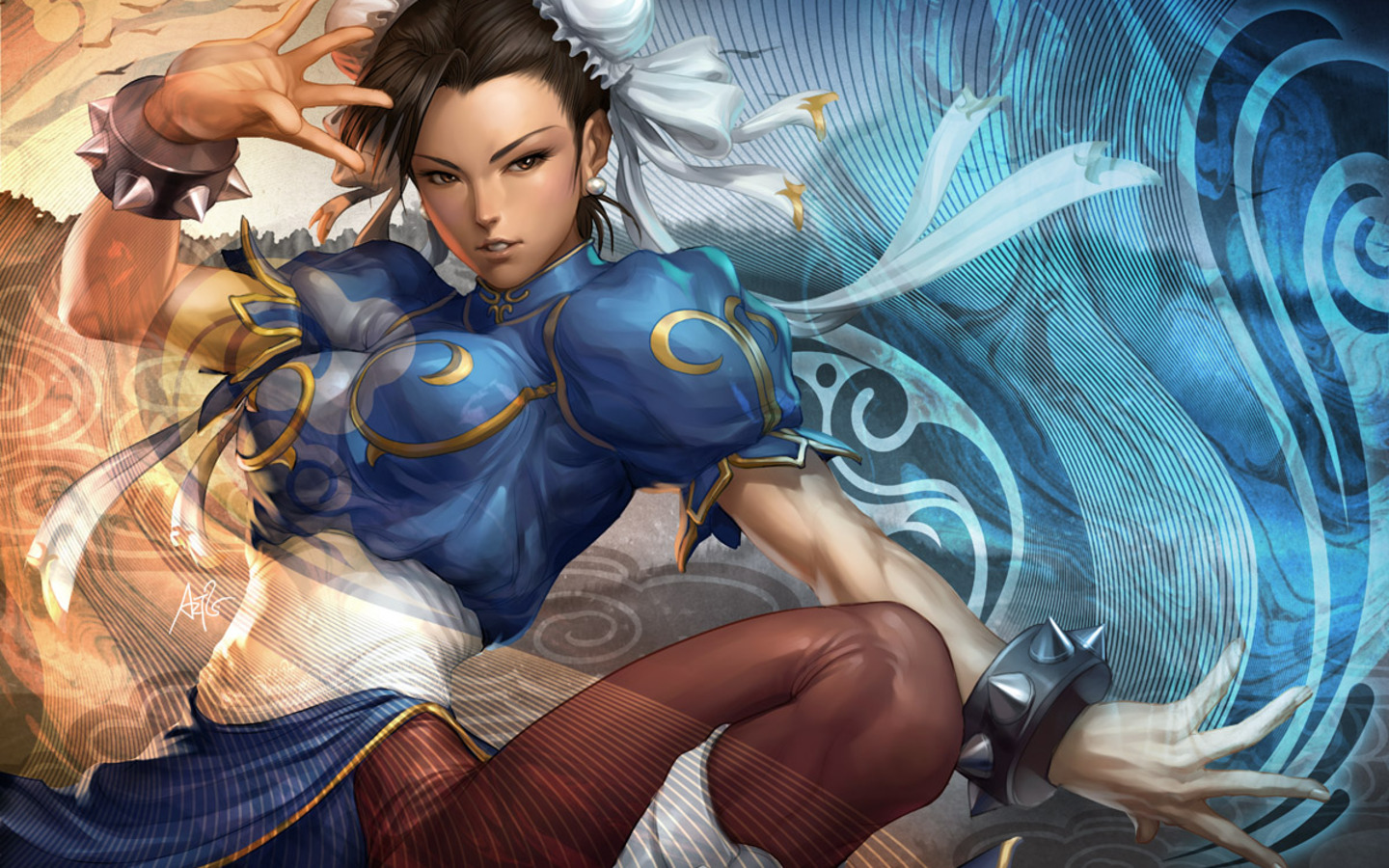 Chun Li de Street Fighter - 1440x900