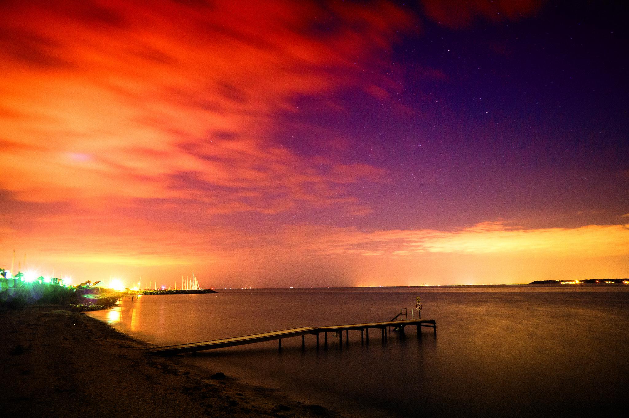 Cielo rojo - 2048x1361