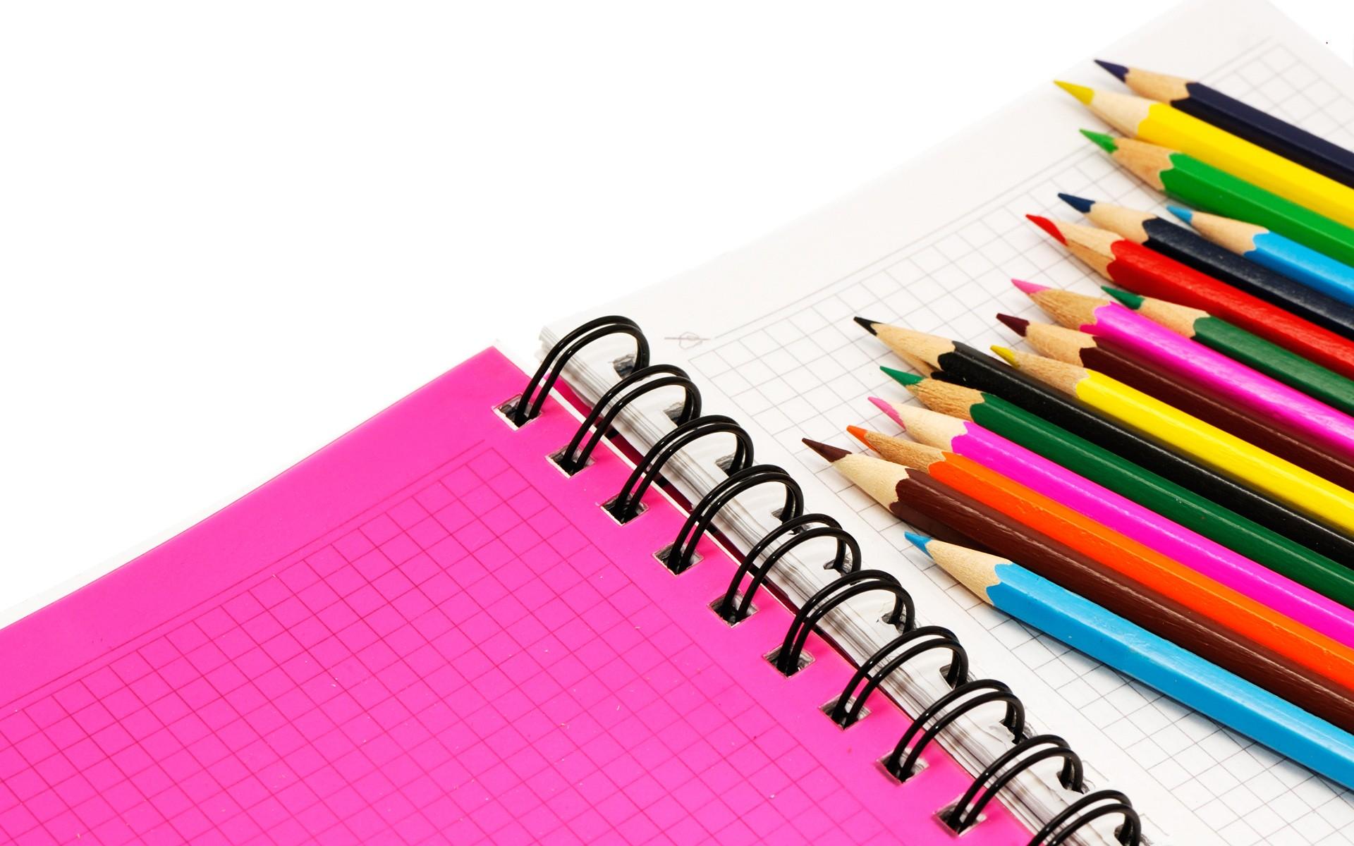 Colores y cuadernos - 1920x1200