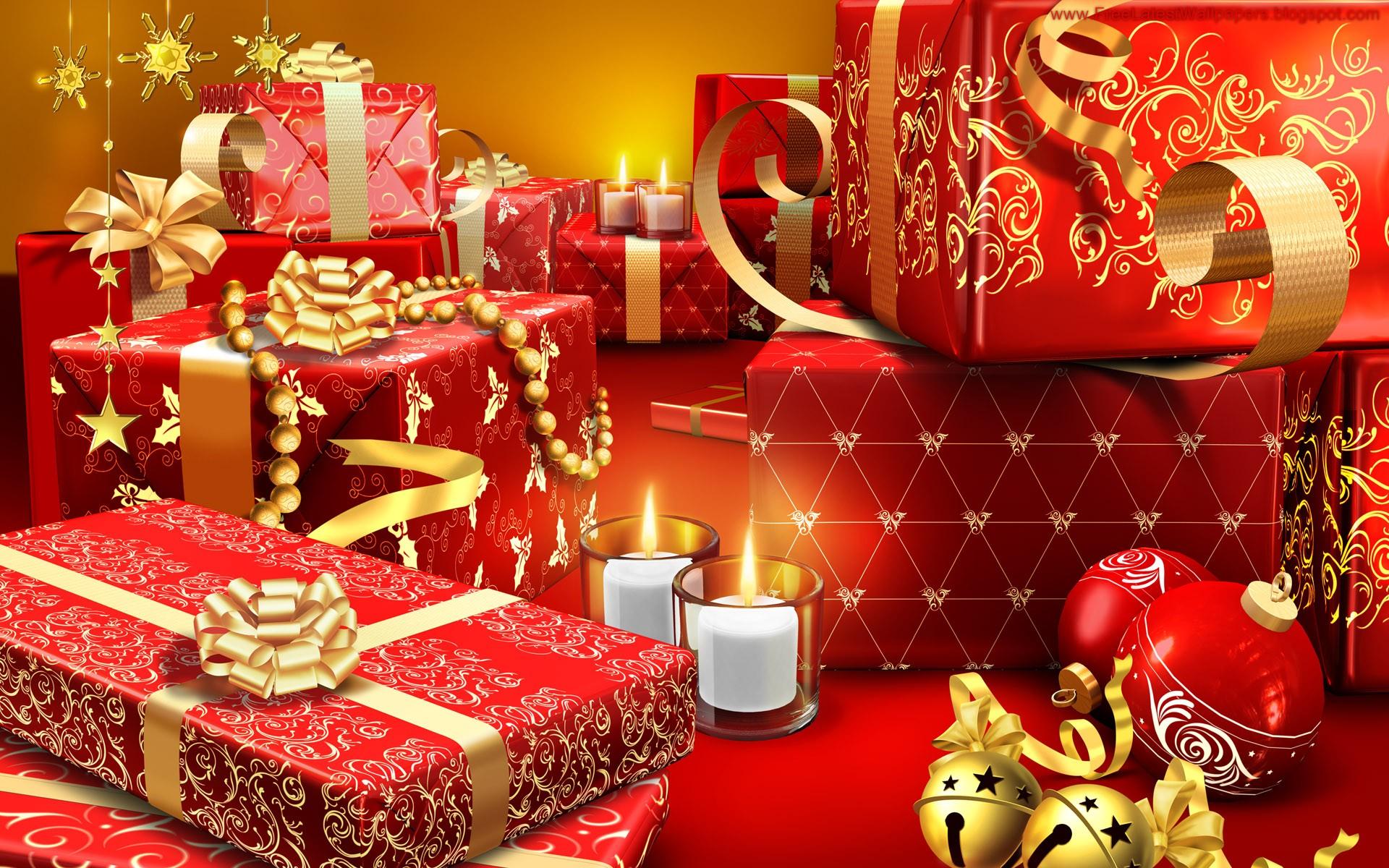 Como decorar cajas para regalos en navidad - 1920x1200